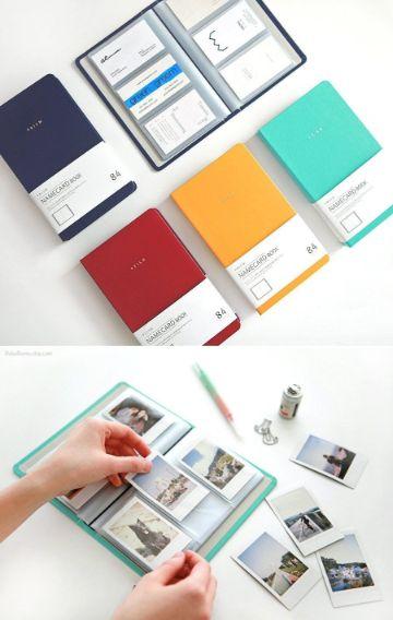 ideas con fotos polaroid para albumes