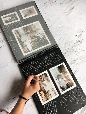 ideas con fotos polaroid para coleccionar