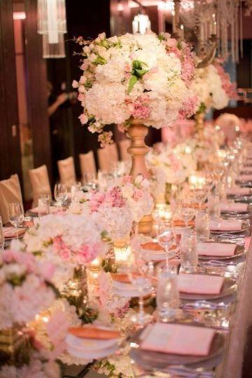 mesas imperiales para bodas grandes