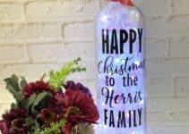 4 hermosos adornos navideños con botellas para casa