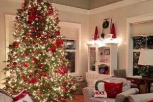 4 casas decoradas de navidad que inspiran