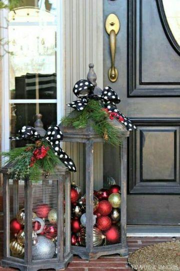 casas decoradas de navidad por fuera