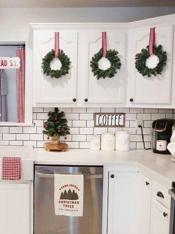 casas decoradas de navidad sencillas