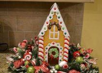 4 centros de mesa navideños en foami faciles de hacer