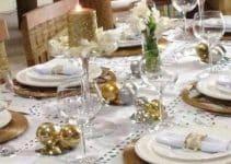 4 ideas para una decoracion de mesa de fin de año