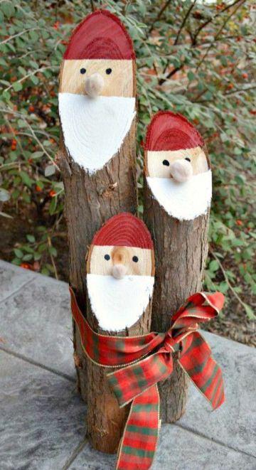 decoracion navideña con reciclaje