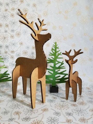 decoracion navideña con reciclaje de carton