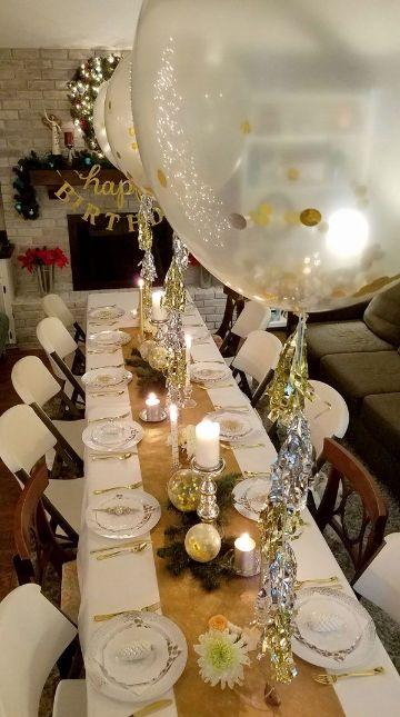 decoracion para 50 años mujer para mesa