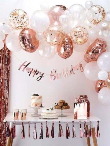 decoracion para 50 años mujer sencilla