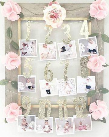 decoracion para bautizo de niña en casa con fotos