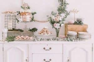 Como hacer decoracion para bautizo de niña en casa