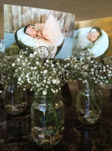 decoracion para bautizo de niña en casa recuerdos