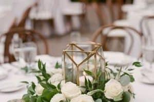 4 faroles para centro de mesa perfectos para bodas