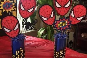 4 estilos de decoracion tematica del hombre araña en fiestas