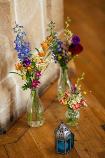 decoracion con flores naturales para interiores