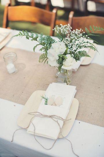 decoracion con telas y flores para bodas
