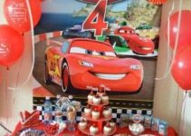 4 opciones de decoracion de cumpleaños de cars