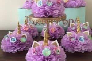 Como hacer una decoracion de unicornio para niña
