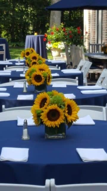 decoraciones para fiesta de girasol en bodas