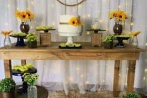 4 decoraciones para fiesta de girasol paso a paso
