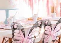 4 hermosas mariposas para decorar cumpleaños
