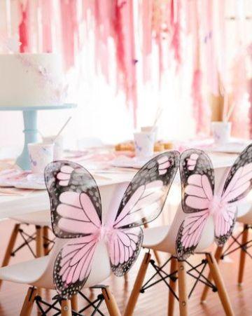 mariposas para decorar cumpleaños de chicas