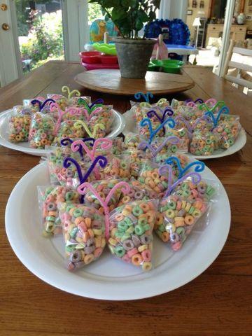 mariposas para decorar cumpleaños dulces