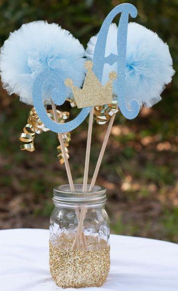 como hacer unas mesas decoradas para bautizo
