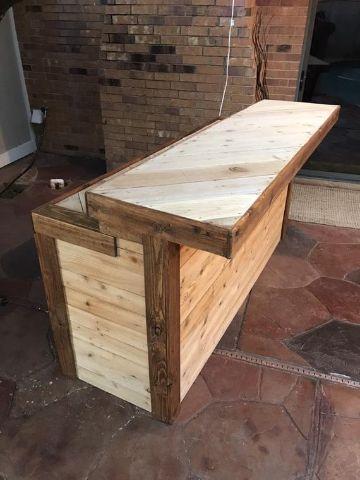 estilos de barras de madera para bar