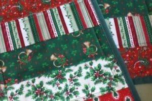 4 estilos de individuales para mesa navideños