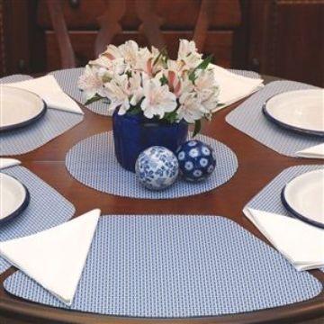 manteles individuales para mesa redonda diferente