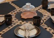4 ideas de manteles individuales para mesa redonda