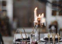 4 increíbles mesas decoradas para matrimonio