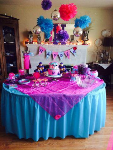 tematicas para fiestas de niñas 2020 para mesas