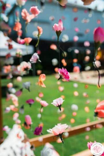 arreglos de flores para cumpleaños con hilos