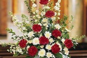 4 tipos de arreglos florales funebres para hacer