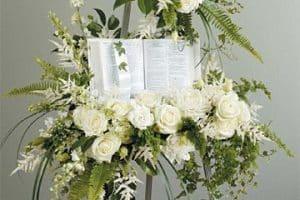 4 ideas para unos arreglos florales para velorio