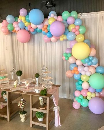 como decorar la mesa de baby shower paso a paso