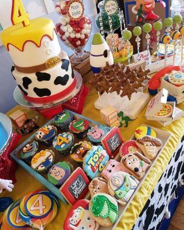 curiosas ideas de fiesta de toy story