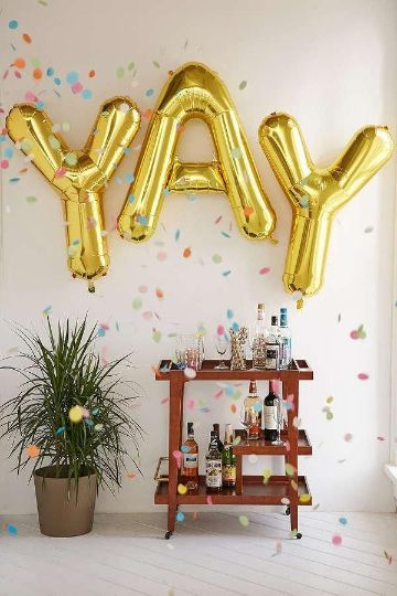 decoracion de 50 años para mujer en casa