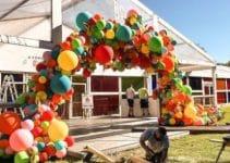 4 ideas para hacer decoracion de globos para niños