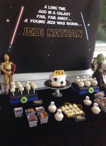 decoracion de star wars para cumpleaños paso a paso
