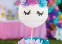 Te mostramos una hermosa decoracion de unicornio bebe