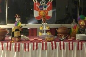 Como hacer una decoracion para fiestas patrias