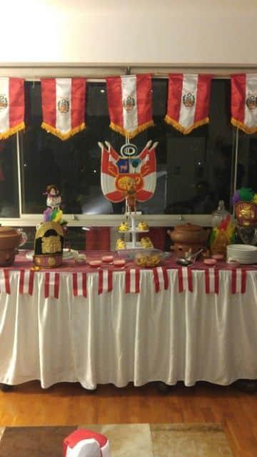 decoracion para fiestas patrias en salones