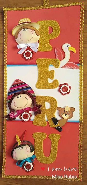 decoracion para fiestas patrias peruanas