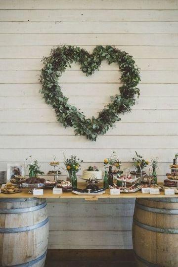 decoraciones rusticas para fiestas de novios