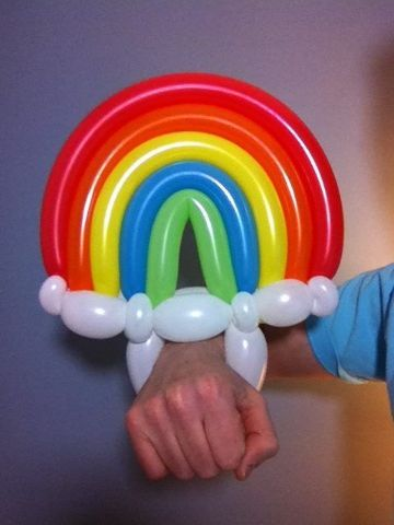 divertida decoracion de globos para niños