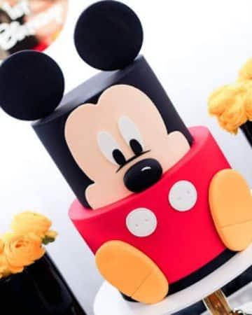 fiesta tematica de mickey mouse