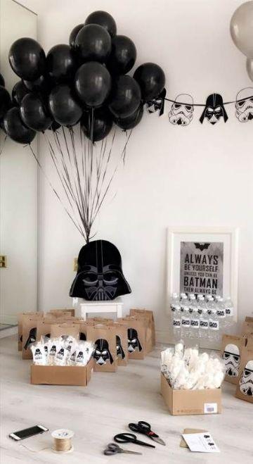 ideas para decoracion de star wars para cumpleaños